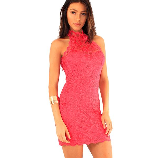 Lili London mekko pinkki - Mekot - Juhlamekot  64e21358cf