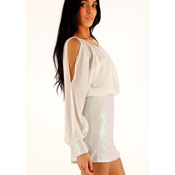 Lili London Milana mekko valkoinen - Mekot - Juhlamekot  4c8fdf3836