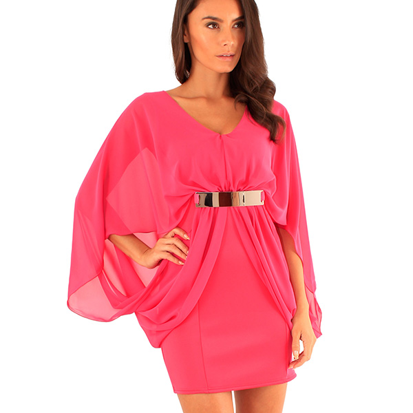 Lili London Isabella mekko pinkki - Mekot - Juhlamekot  8b47ad8dcc