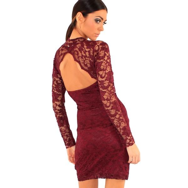Lili London Cliche mekko viini - Mekot - Juhlamekot  2ca9f56e46