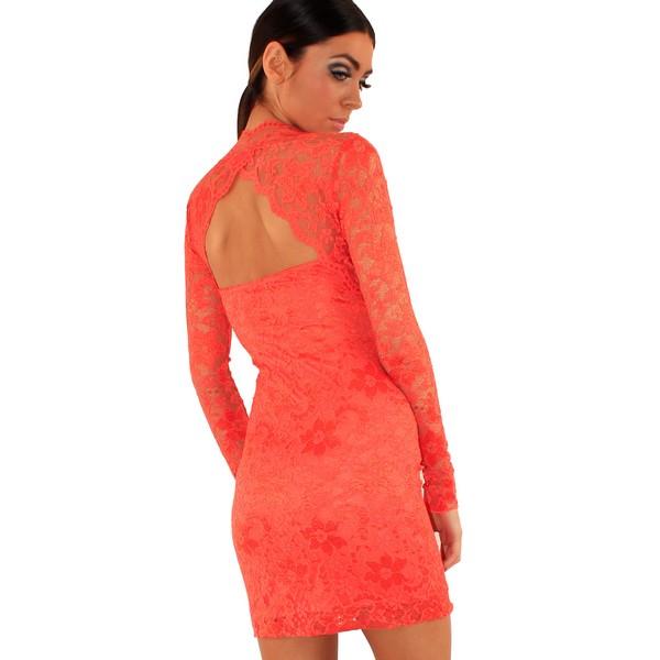 Lili London Cliche mekko oranssi - Mekot - Juhlamekot  533c3c3e07