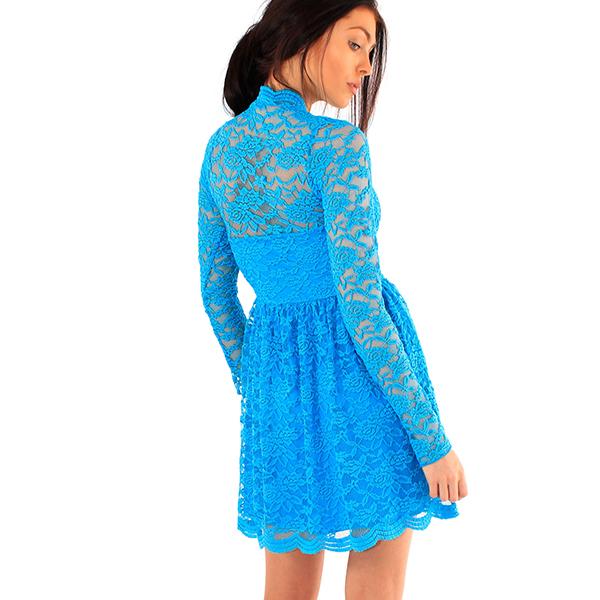 Lili London Kendall Lace mekko turkoosi - Mekot - Juhlamekot  0a64a6e512