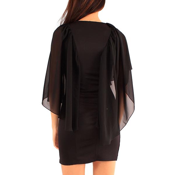 Lili London Tanja mekko musta - Mekot - Juhlamekot  88e0838cc6