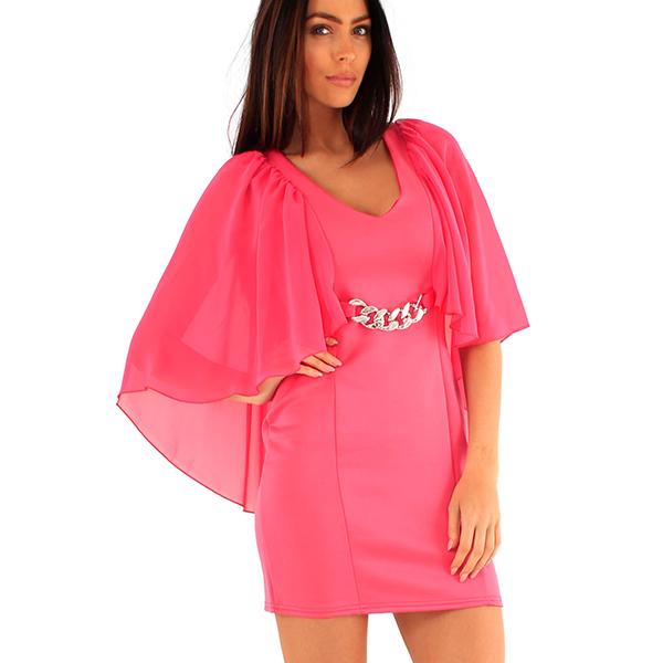 Lili London Tanja mekko pinkki - Mekot - Juhlamekot  1b1752028f