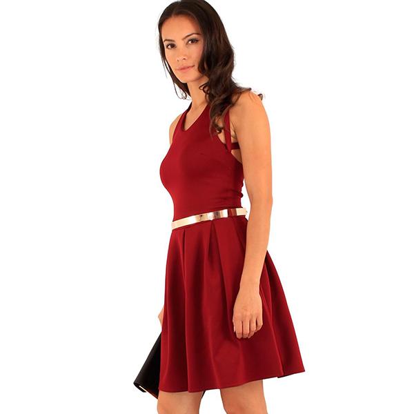 Lili London Comfort mekko viini - Mekot - Juhlamekot  538b64d5f7
