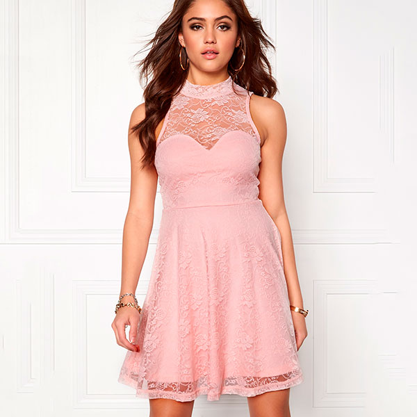 Cleo Lace mekko vaaleanpunainen - Mekot - Juhlamekot  52ef6499c0