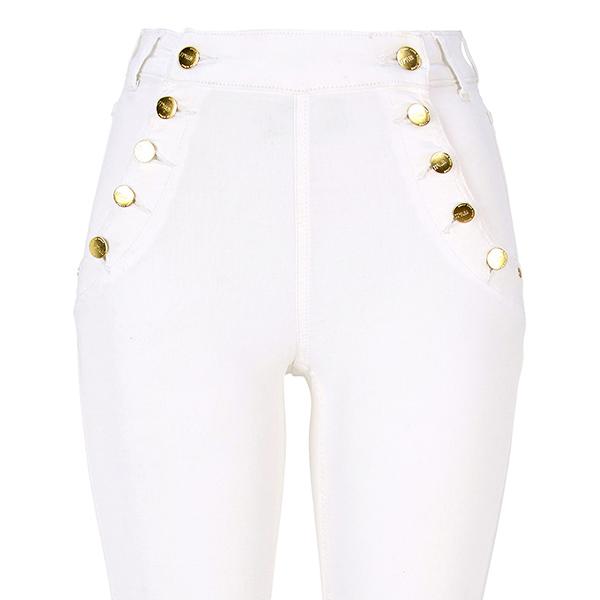 ... Adina High Waist farkut valkoinen. Valmistaja  77thFLEA 1410567e727fb