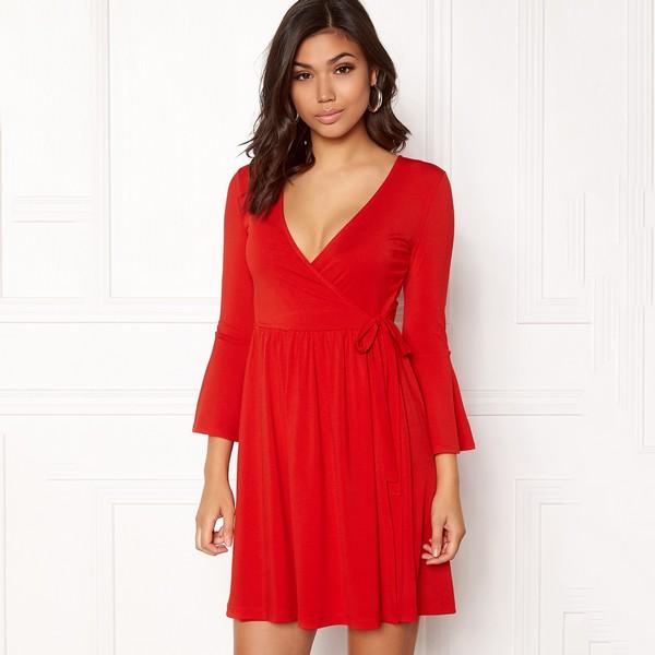 Kaylee mekko punainen - Mekot - Juhlamekot  b0ff77685f