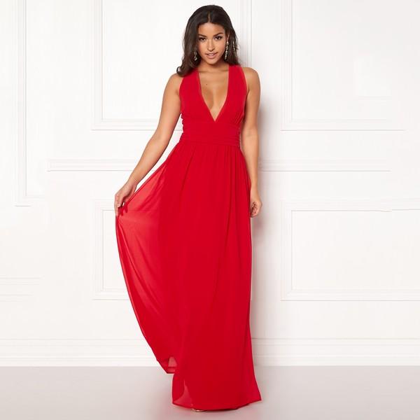 Hampton mekko punainen - Mekot - Juhlamekot  b4a35e0e8d