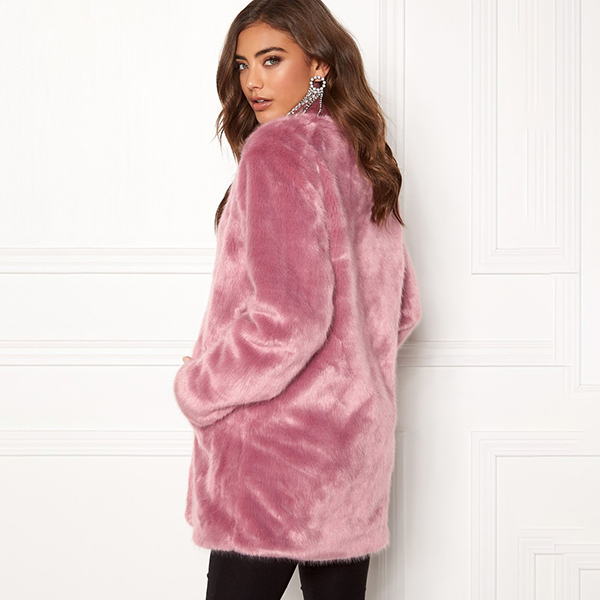 Luxure Faux Fur talvitakki roosa - Takit - Talvitakit  71bd8309c7