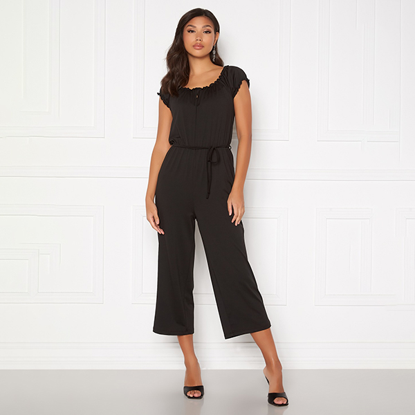 Happy Holly Tessan jumpsuit musta
