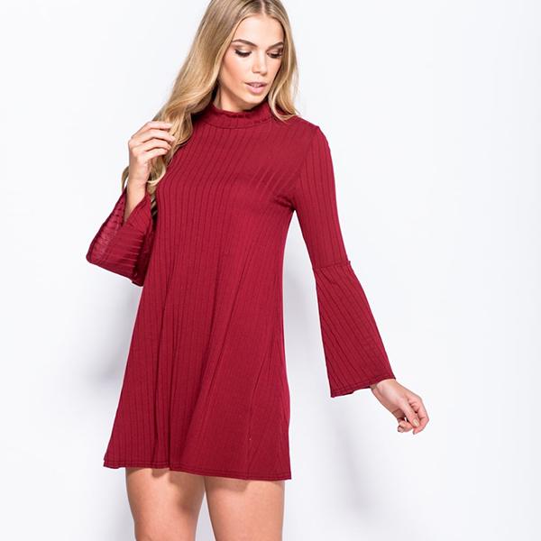 IM Fashions Swing mekko viini - Mekot - Minimekot  5f1aeb84ca