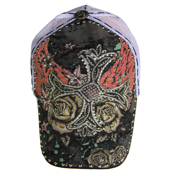 Etusivu · Hatut · Lippahatut. CROSS  n Wings (red) - mustavalkea lippalakki  ... 25a88046fc