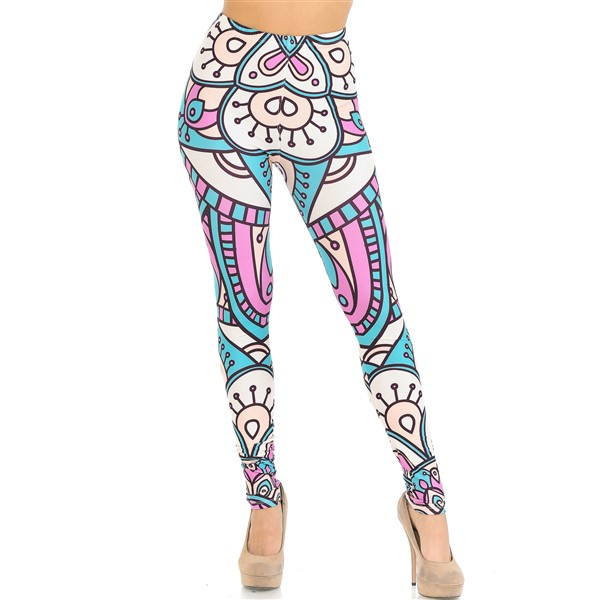 USA Fashion Cute Mandala leggingsit