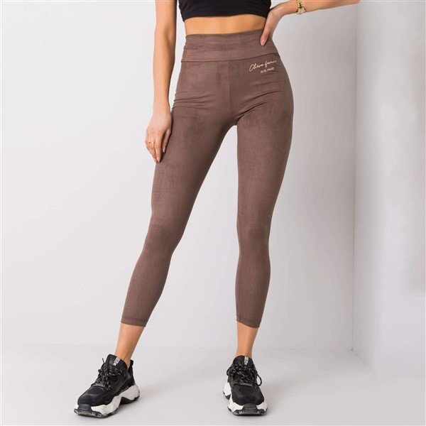 Rue Paris Samantha leggingsit taupe