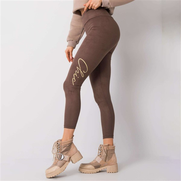 Rue Paris Letty leggingsit taupe