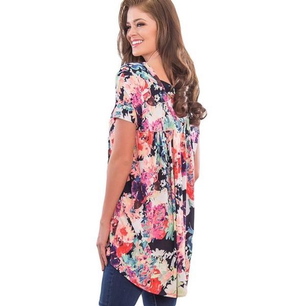 Carolyn tunika kukkakuvio - Paidat - T-paidat  a97c9783be
