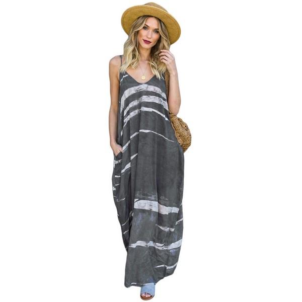 Rosy mekko harmaa kuviollinen - Mekot - Maksimekot  cd9a11be39