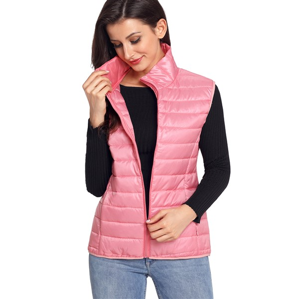 Quilt toppaliivi vaaleanpunainen - Takit - Talvitakit  f99c932d60