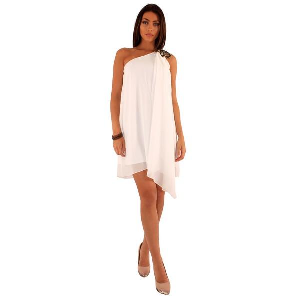 Lili London Friday mekko valkoinen - Mekot - Juhlamekot  dd03479501