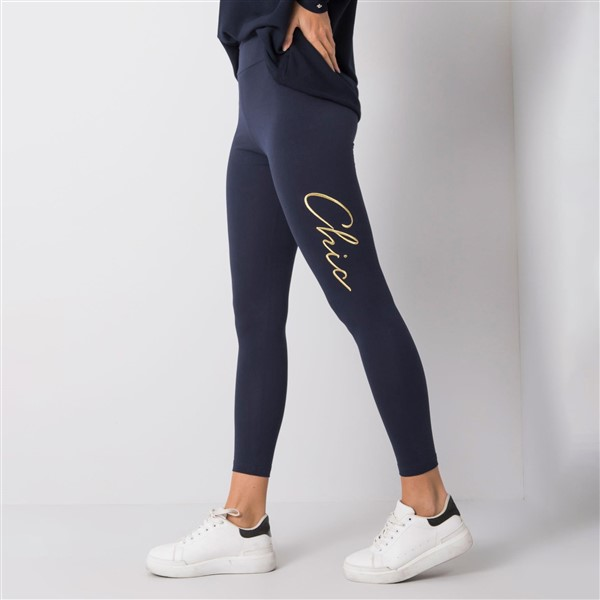 Rue Paris Chic leggingsit navy