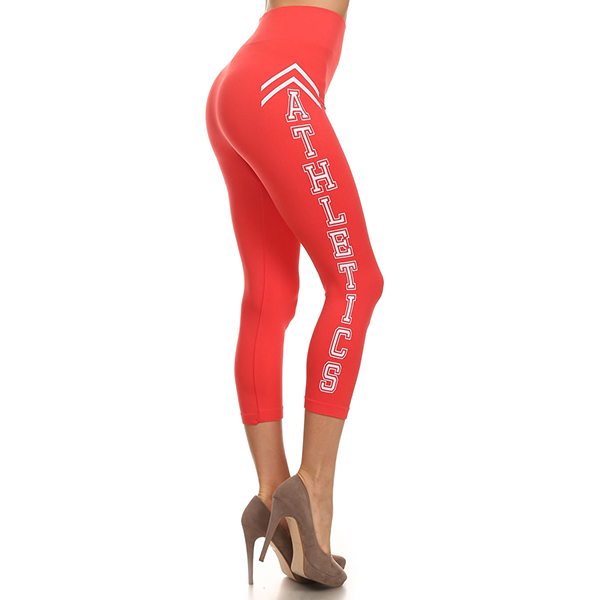 Yelete Athletics caprileggingsit koralli