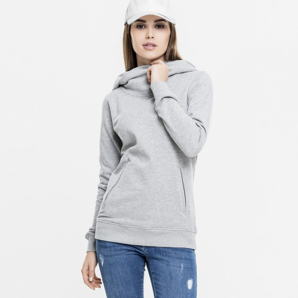 Urban Classics High Neck huppari harmaa
