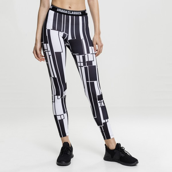 Urban Classics Graphic Sports leggingsit kuviollinen