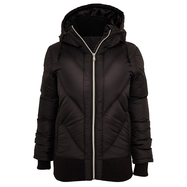 Urban Classics Arrow Winter toppatakki musta