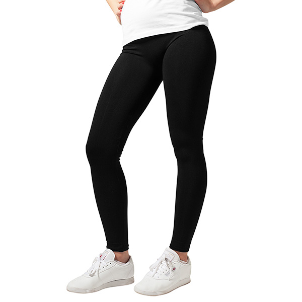 Urban Classics Ladies PA leggingsit musta