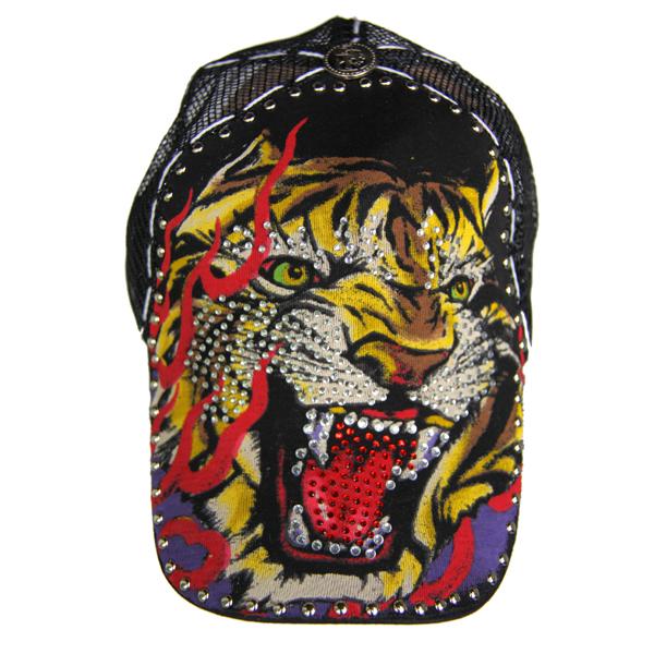 Etusivu · Hatut · Lippahatut. Tiger  n purple lippahattu musta ... d91fb4b9cc