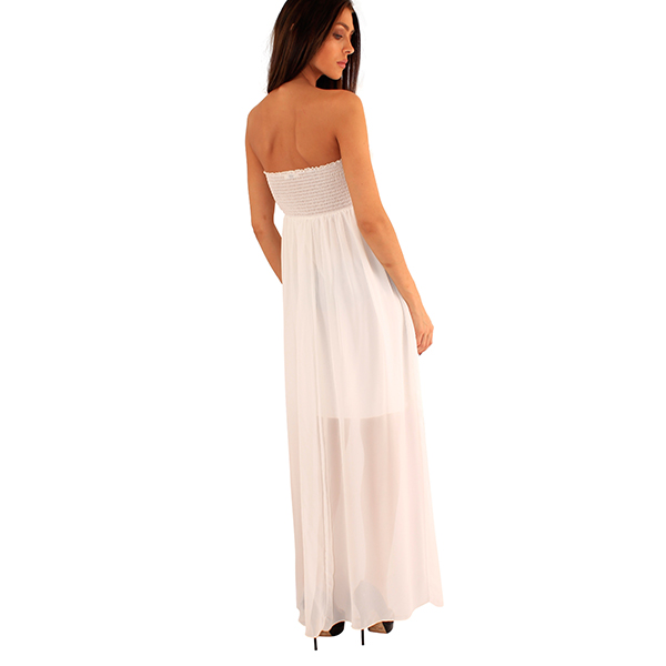 Lili London Denisa mekko valkoinen - Mekot - Juhlamekot  4bee617c67