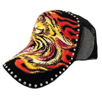 Flaming Tiger lippahattu musta - Hatut - Lippahatut  9e82767cd7