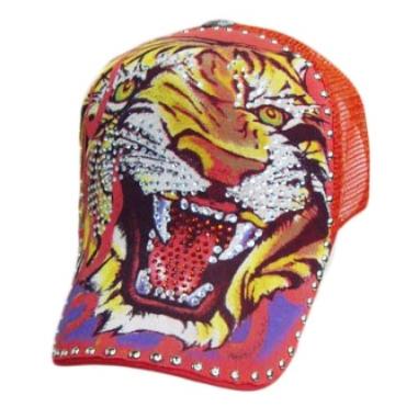 Tiger n purple - punainen lippalakki - Hatut - Lippahatut  521c4db255