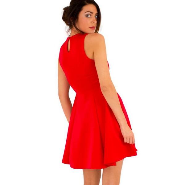 Lili London Marie mekko punainen - Mekot - Juhlamekot  3197d8bea2
