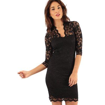Lili London Poppy mekko musta 964c668426