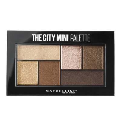 Maybelline The City Mini luomiväripaletti Rooftop Bronzes