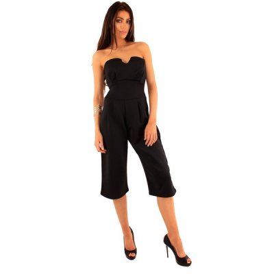 Lili London Limited Lady jumpsuit musta