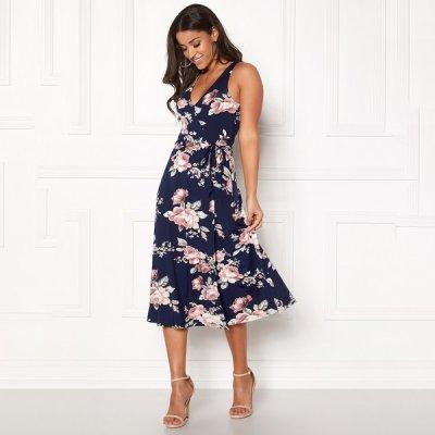 Sibel mekko t.sininen kukkakuvio 607f3f4a47
