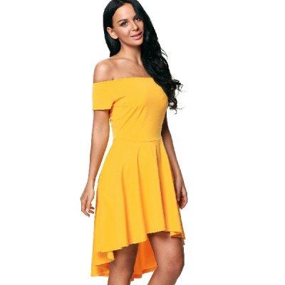 Lydie mekko keltainen d1af8ef28d