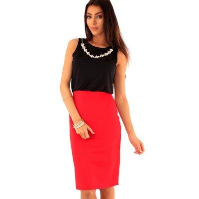 Lili London Sunday mekko punainen musta a55a576d38