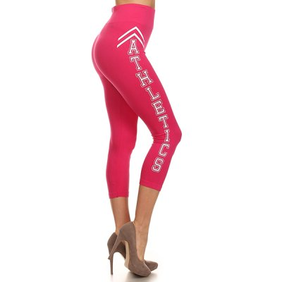 Yelete Athletics caprileggingsit pinkki