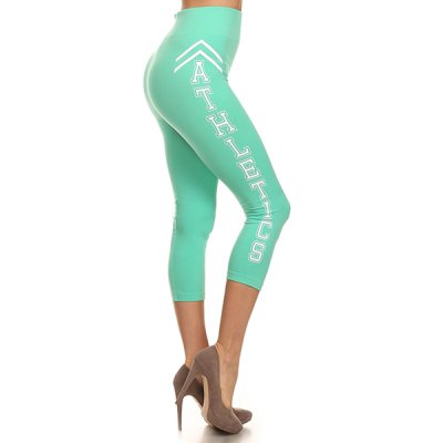 Yelete Athletics caprileggingsit minttu