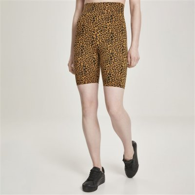Urban Classics AOP High Waist Cycle shortsit leopardi